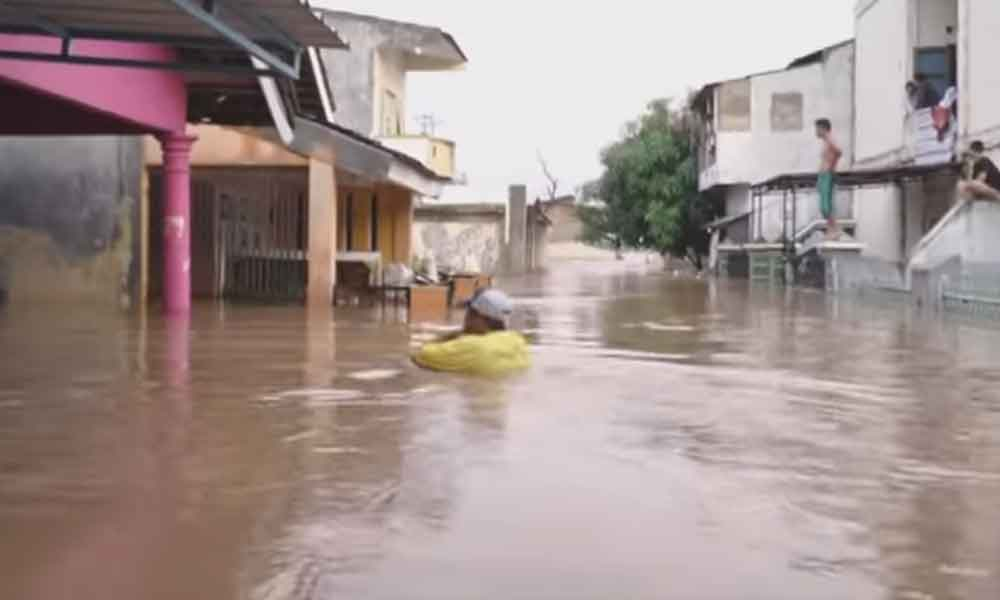 Banjir di Bandar Lampung
