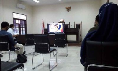 Diskusi Video Conference KPPU