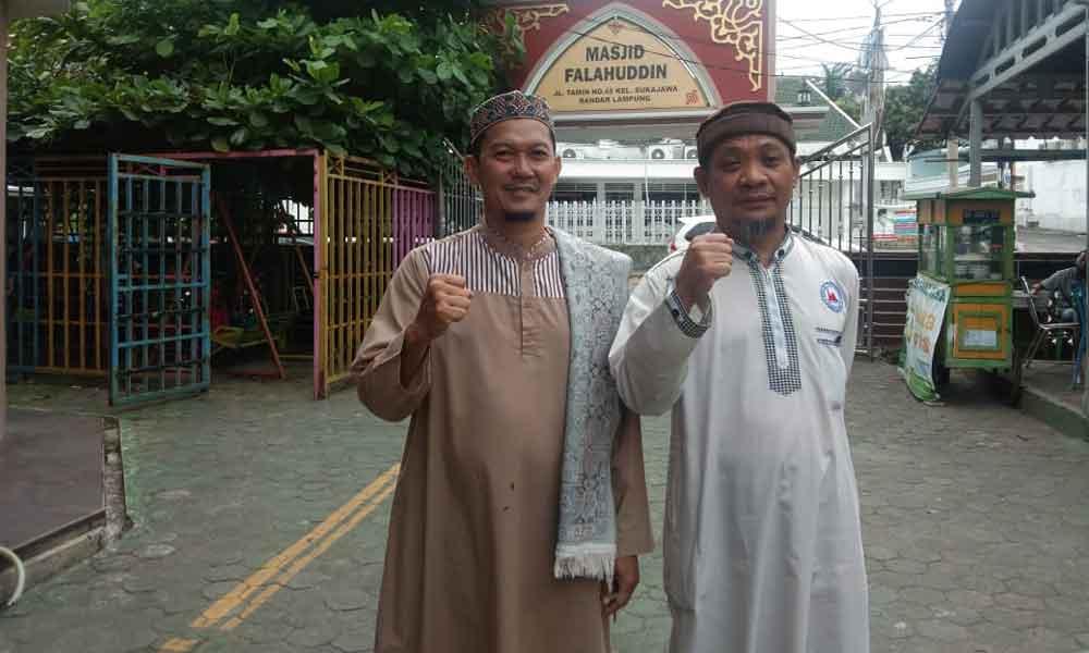 Pengurus Masjid Falahuddin Tamin