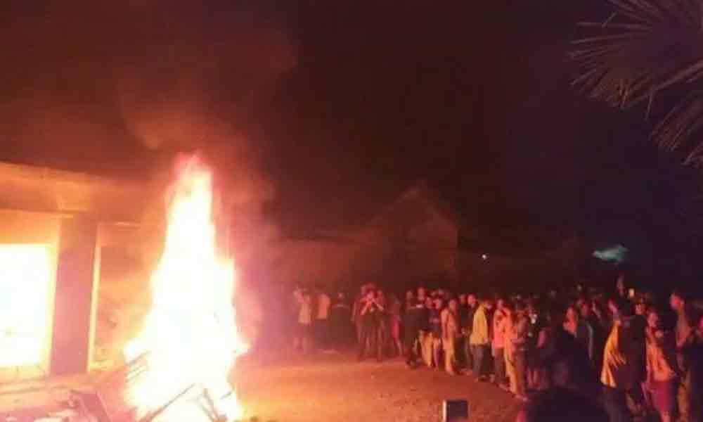 Pembakaran Polsek Candipuro