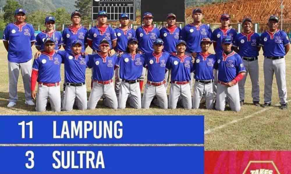 Tim Softball Putra Lampung