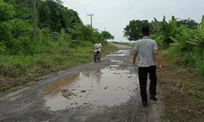 Jalan Rusak di Tanggamus