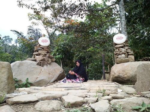 Pasar 1000 Batoe merupakan salah satu destinasi wisata digital di Lampung